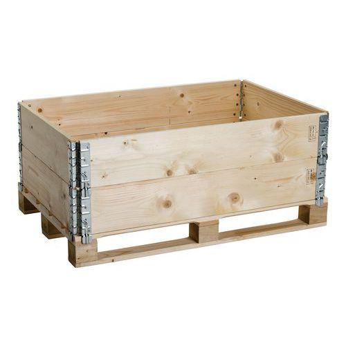 Rehausse palette bois ISPM 15 Pliante et rabattable # Rehausse Palette Bois