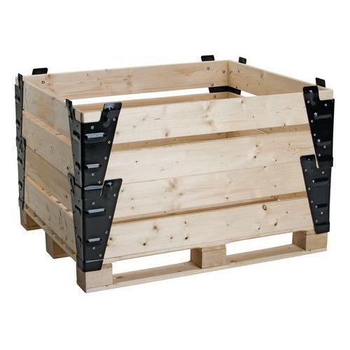 Rehausse palette bois ISPM 15 Fixe # Rehausse Palette Bois