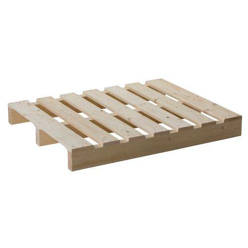 Palette 2 entrées en bois