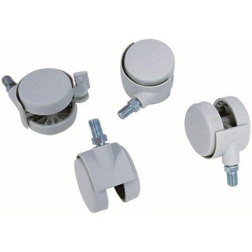 Roulette pour fichier modulaire 2 tiroirs