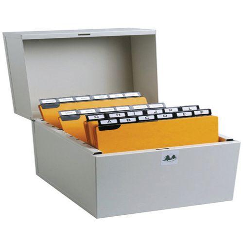 Steekkaartenbak klassement 500 steekkaart in breedte 74x105 tot 75x125