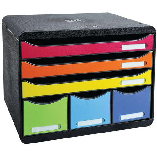 Caisson individuel 6 tiroirs STORE-BOX MAXI