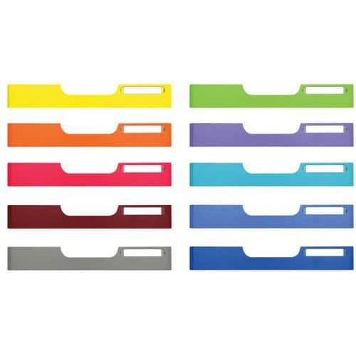 MODULO(DOC) 10 voorzetplaat A4 formaat voor standaard box Exacompta