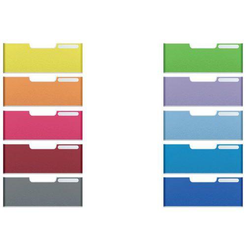 Set de 10 frontons A4 taille jumbo (coloris assortis) MODULODOC