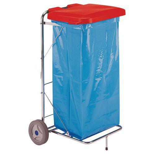 Couvercle pour support pour sac poubelle 4116 - Couvercle pour poubelle automatique ...