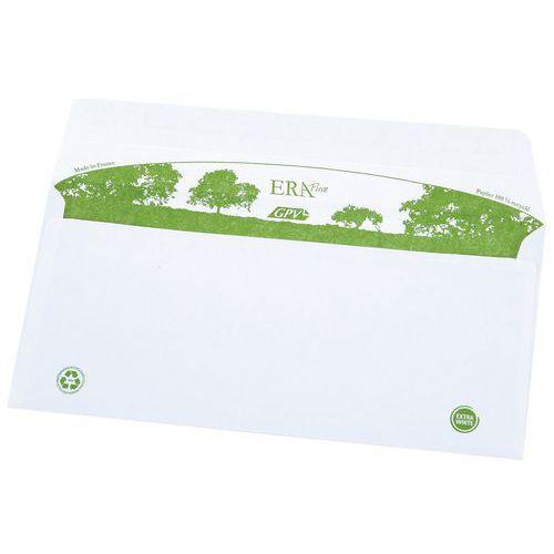 Enveloppe blanche recycl e sans fen tre for Enveloppe sans fenetre
