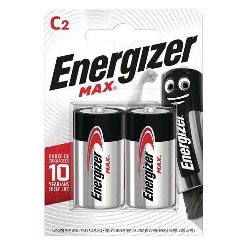 Batterij Max C - Set van 2 - Energizer