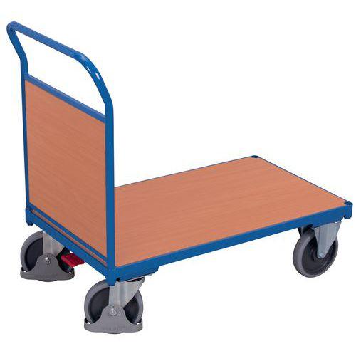 Wagen met houten zijwand - Draagvermogen 400 kg tot 500 kg