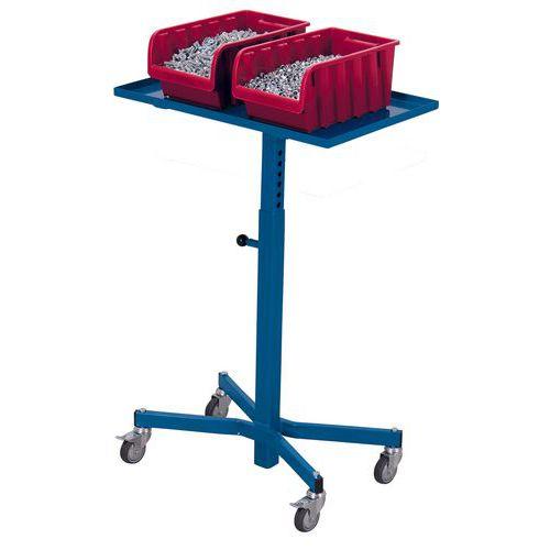 Werkplaatswagen voor Euronorm-bakken - Draagvermogen 150kg