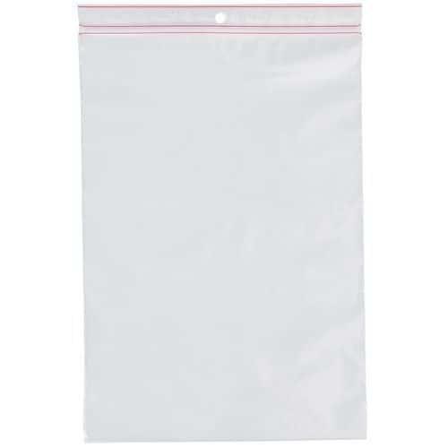 Sachet Minigrip® PE 60µ 100x100 (rouleau de 100 sachets)