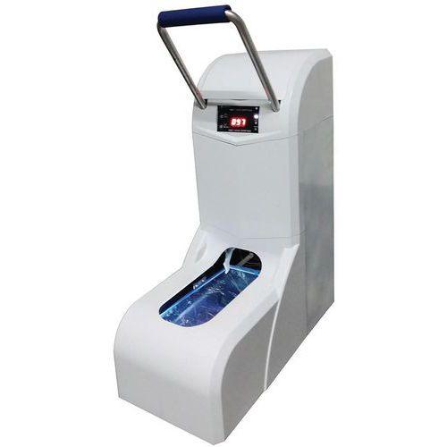 Automatische dispenser van overschoenen