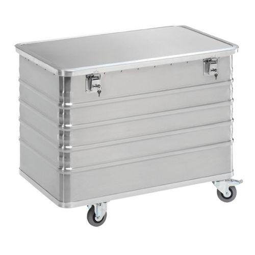 Containerwagen van aluminium - Capaciteit 223 tot 656 L