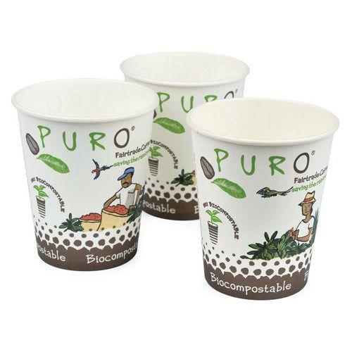 Biologisch afbreekbare bekers Puro 15 cl - Set van 2500 - Miko