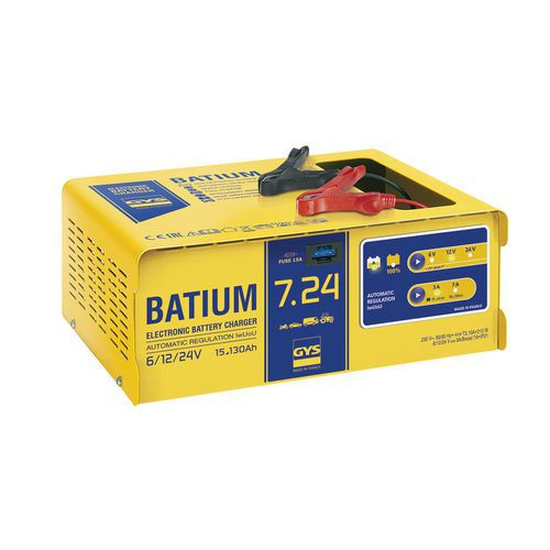 Chargeur de batterie automatique à microprocesseur 6/12/24 V - Gys