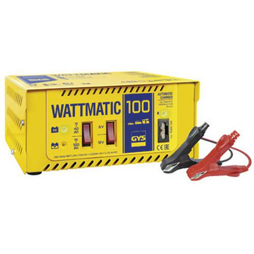 Chargeur de batterie automatique 6/12 V WATTMATIC 100