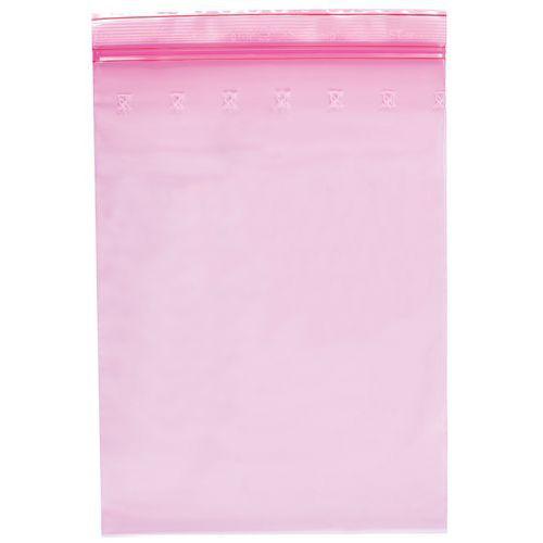 Antistatisch verpakkingszakje Minigrip® 80 micron 100x150