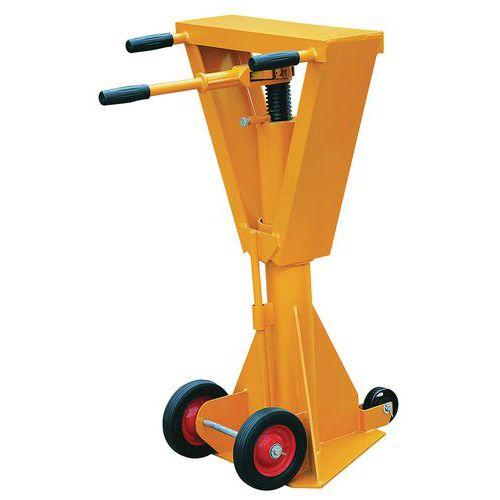 Stabilisatiesteun voor aanhangwagen - BSV60 - Statische capaciteit 45 t