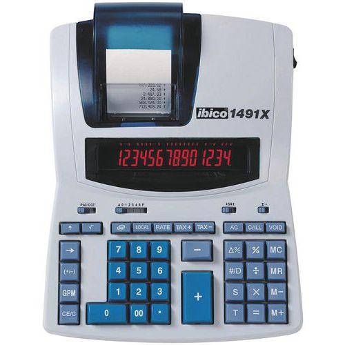 Rekenmachine Professioneel met telrol Ibico 1491X