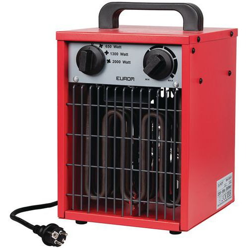 Elektrische verwarming EK - 2000 W en 3000 W - Eurom