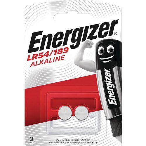 Alkalinebatterij voor rekenmachine, horloge en multifunctioneel - LR54 - Set van 2 - Energizer