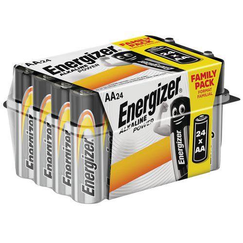 Batterij Alkaline Power AA value box - set van 24 - Energizer