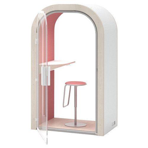 Cabine de confidentialité 1 place - Leet design