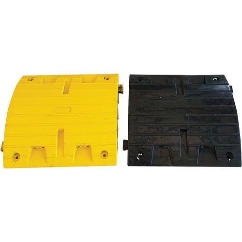 Set 2 elementen voor drempels voor vrachtwagens - Zwart/geel - Viso