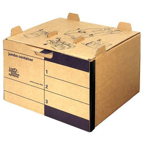 Caisse à archives en carton ondulé City 10+ Bankers Box