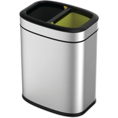 Open Top Bin OLI-Cube 10+10 liter EKO