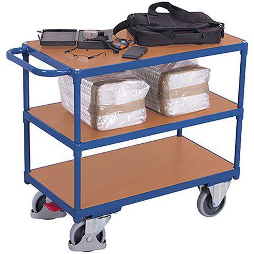 Tafelwagen zwaar met 3 laadvlak