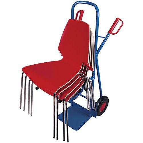 Steekwagen voor stoelen