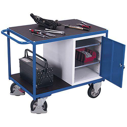 Werkplaatswagen Zwaarlast met 2 laadvlakken