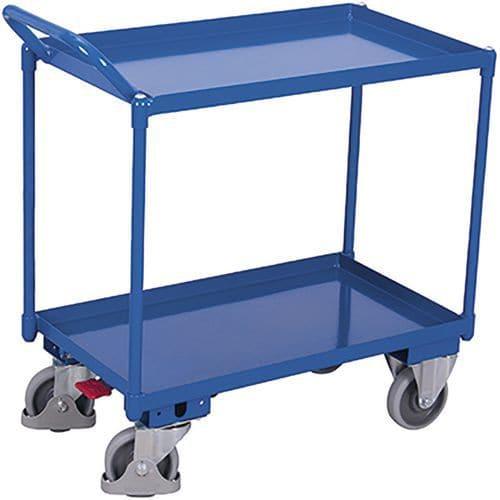 Tafelwagen met 2 laadvlakken