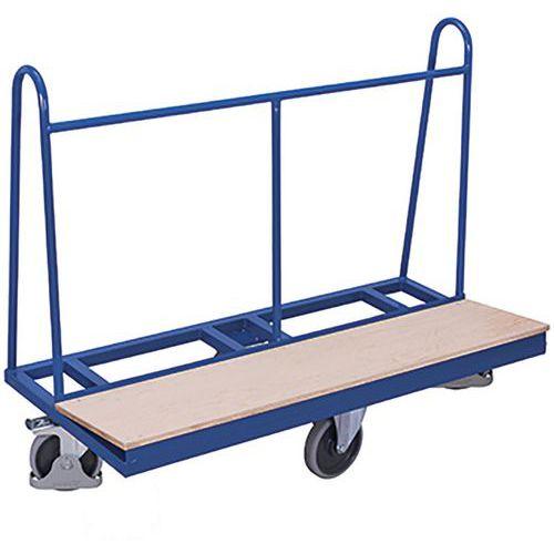 Panelenwagen met rhombische wielen