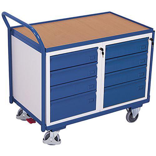 Werkplaatswagen met 1 laadvlak