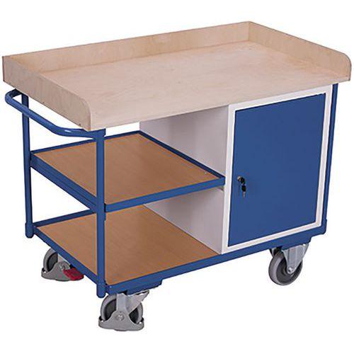 Werkplaatswagen met 3 laadvlakken