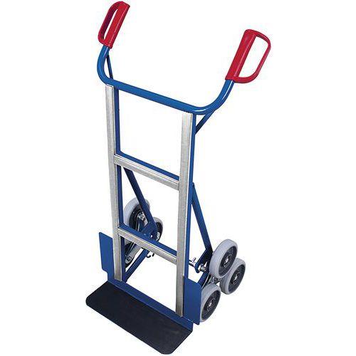 Steekwagen voor apparaten met 2 driearmige wielset