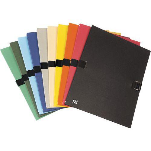 Exacompta NClip Lot de 10 Chemises extensible Coloris Assortis