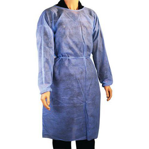 Overjas voor eenmalig gebruik - één maat - set van 90