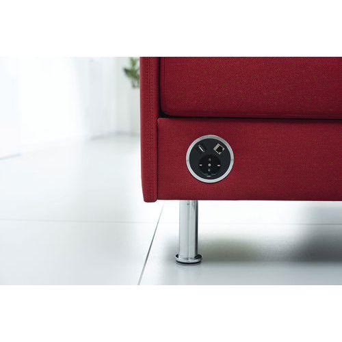 Stroomvoorziening voor stoel Atelier