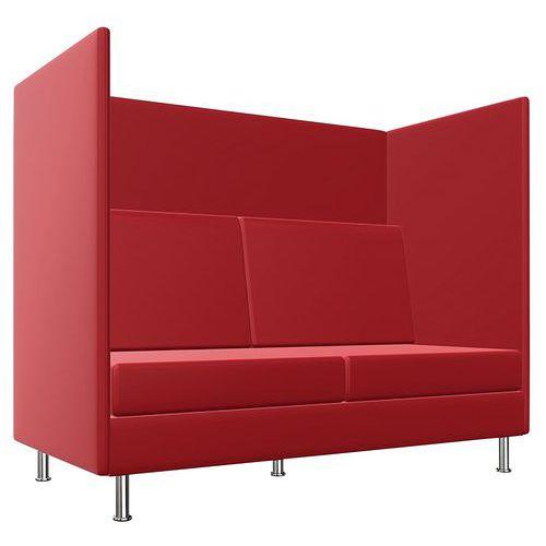 Stoel Coworking 2,5 zitplaatsen - H 136 cm - Atelier