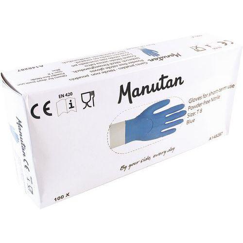 Wegwerphandschoen nitril niet gepoederd - Manutan