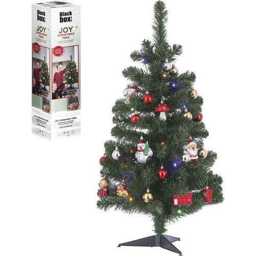 Kerstboom Joy - led groen met 26 versieringen