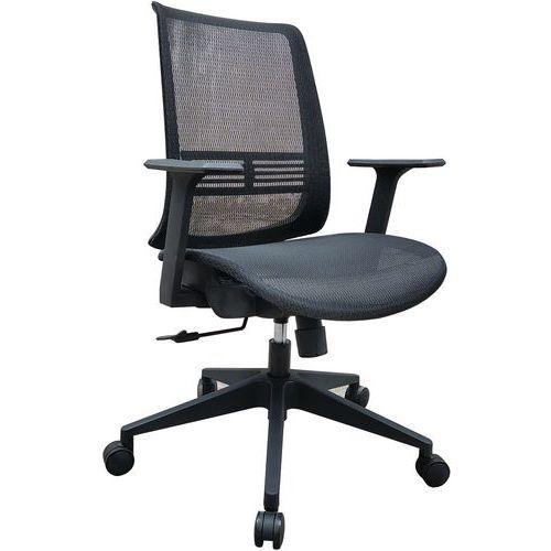 Bureaustoel zwart Lena