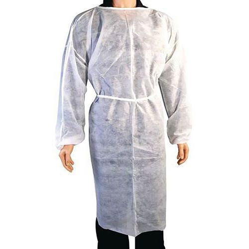 Waterafstotende overjas voor eenmalig gebruik - set van 100