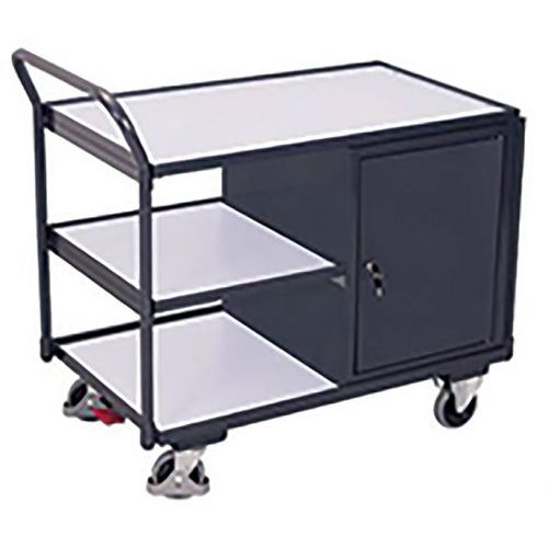 Werkplaatswagen ESD met 3 laadvlakken
